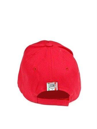 LEONE - CAPS [LX1159_czerwona]