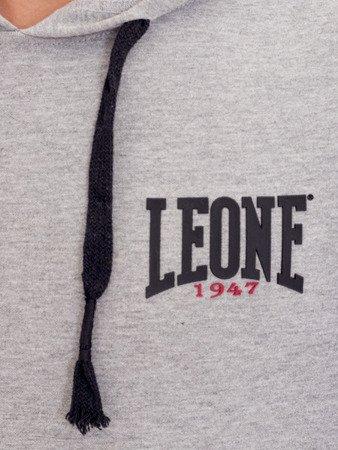 LEONE - HOODED SWEATSHIRT [LSM1559_szara]