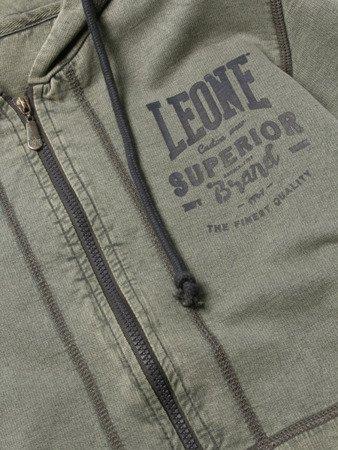 """LEONE - """"OLD"""" S [LSM1508_zielona]SWEATSHIRT"""