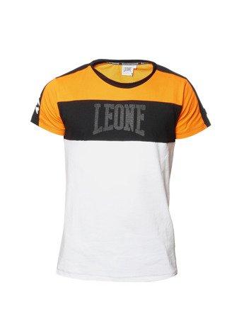 "LEONE - TSHIRT ""WACS"" [LSM1518_pomarańczowy]"
