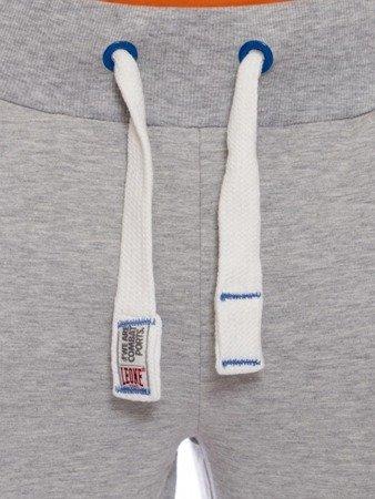 LEONE tepláky heather grey XXL [LSM1660]